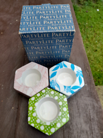 Party lite Tea Candle Holders