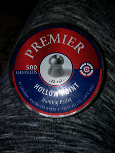 Premier Hollow Point Hunting Pellets .22 cal.