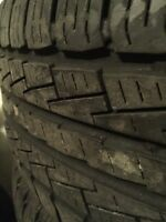 CHEAP SET of Pirelli scorpion 50%tread 245/55 r20