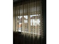 Ikea long curtains window patio door decoration room