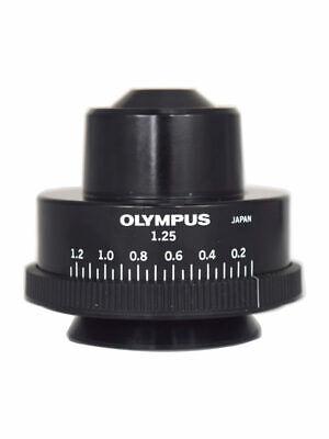 Olympus 1.25 Na Abbe Condenser Bh2 Bh-2 Bx Microscope Series