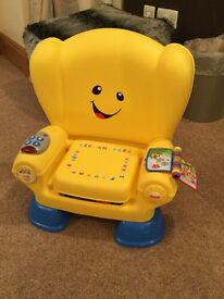 Fisher-Price Laugh & Learn Smart Stages Chair RRP £35