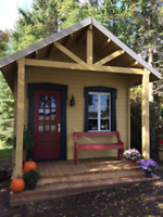 Cabin in kit - on demand size and multiple models