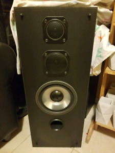 SONY MUSIC SYSTEM CD, CASSETTE, TURNTABLE, RECEIVER + SPEAKERS