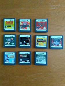 10 Nintendo DS Games For $40