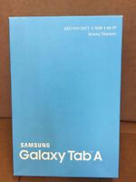BRAND NEW SEALED BOX Samsung Galaxy Tab A Tablet PC (non-nego).
