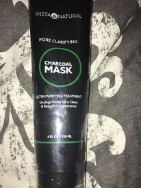 Charcoal face mask- new and sealed.