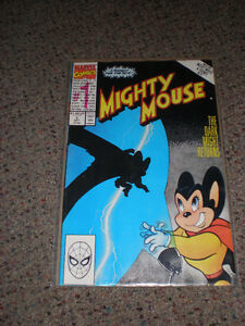 Marvel Comics #1 Mighty Mouse The Dark Might Returns  1990