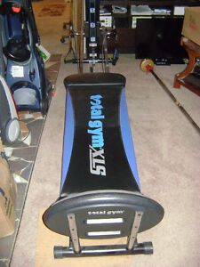 Total Gym XLS * Like New with all accessories & DVDs