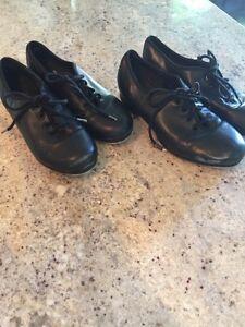 Capezio tap shoes ladies size 5 and 5.5