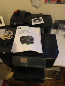 2 HP Office Jet 6500A Printers For Sale With Ink