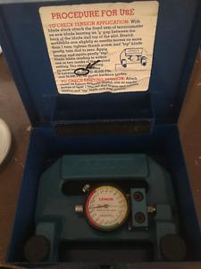 meter/band saw tension meter