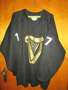 Rare, Gold Harp GUINESS jersey