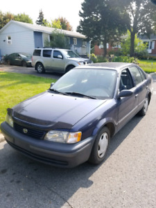 Toyota tercel  PERFECT CONDITIONS **AUCUNE ROUILLE **