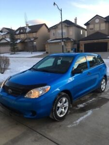 2007 Toyota Matrix - Reliable, 1 owner, Regularly Maintained