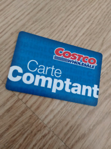 Carte comptant Costco 100 dollars