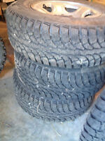 265-70-17 winter tires on chevy/Dodge rims