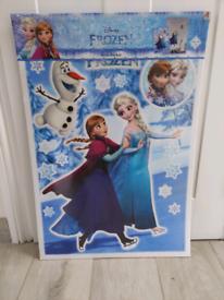 New Disney Frozen Wall Deco Stickers