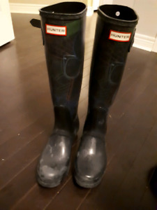Hunter Boots Size 9