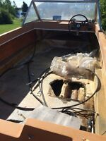 Boat with trailer and motor