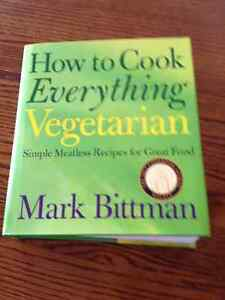 How To Cook Everything Vegetarian Cookbook Peterborough Peterborough Area image 1