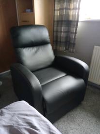Recliner chair .