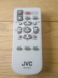 Remote control JVC camcorder RM-V720U unused