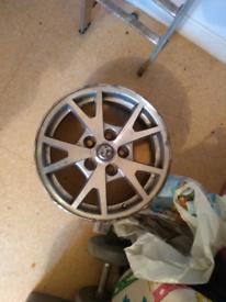 Alloy wheel off Vauxhall insignia
