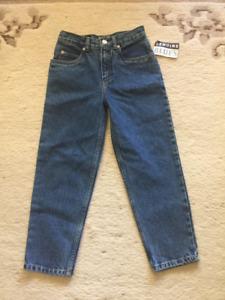Child's slim fit blue jeans.