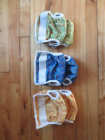 Bummis diaper covers, Size 1
