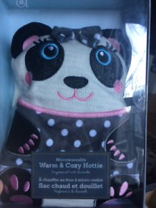 Microwaveable Warm & Cozy Hottie (it is like a hot water bottle)