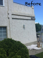 STUCCO AND PARGING REPAIRS