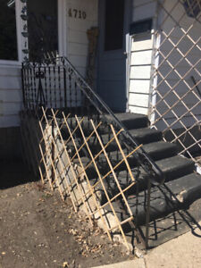 FREE!!!! Cement Steps