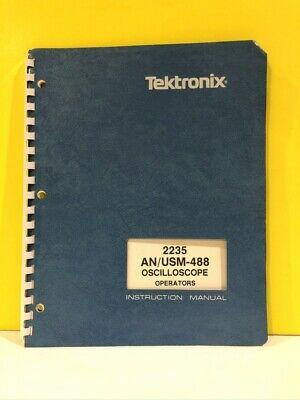 Tektronix 070-4976-00 2235 Anusm-488 Oscilloscope Operators Instruction Manual
