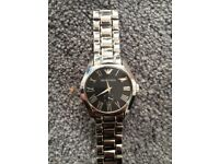 emporio Armani mens stainless steel watch