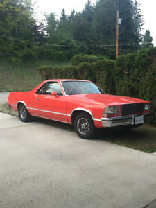 1979 El Camino in Creston, runs great and turns heads $10K