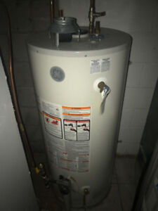 GE 50 Gallon Gas Hot Water Tank