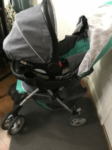 Graco Comfy Cruiser Click Connect Briar Travel System