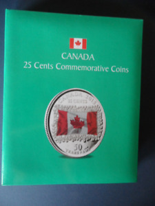 CANADA 25 CENTS COMMEMORATIVE COIN SET