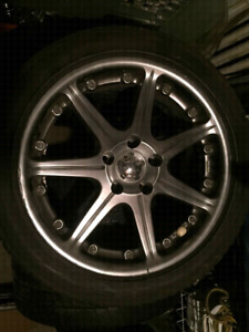 Set of 4 17inch tires with rims