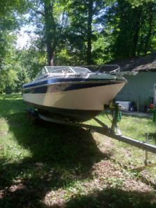 Boat and Excalibur Trailer For Sale