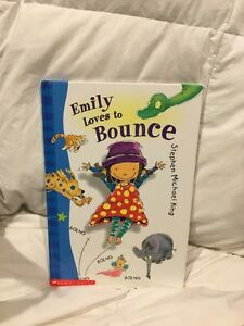 Emily loves to bounce book