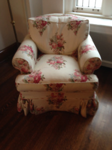 Beautiful Down Filled Upholstered Chairs