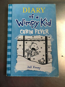 Diary of a Wimpy Kid: Cabin Fever by Jeff Kinney Book 6 SOFTCOVE