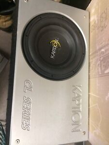 Sub for car or truck
