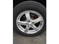 Vito 5x112 load rated alloy wheels