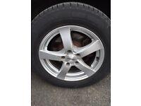 Vito 5x112 load rated alloy wheels