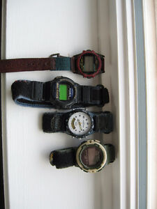 timex watches $5, 10 and 20 each