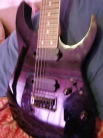 Ibanez rg7321. 7 string guitar