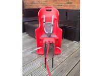 Boodie polisport baby bike seat